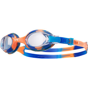TYR Swimple Tie Dye Goggles Kinder blue/orange blue/orange