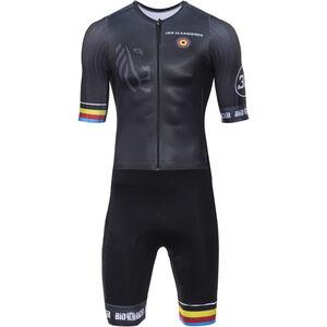 Bioracer Van Vlaanderen Speedsuit Road Race SS black black