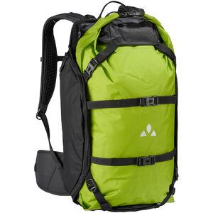 VAUDE Trailpack Rucksack 27l black/green black/green