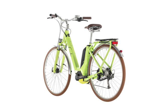 Cube Elly Ride Hybrid 500 Easy Entry Damen green