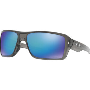 Oakley Double Edge Brille grey smoke/prizm sapphire polarized grey smoke/prizm sapphire polarized