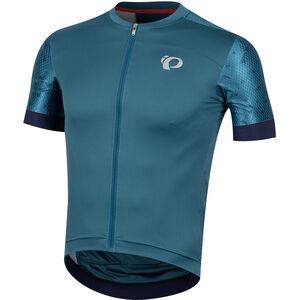 PEARL iZUMi Elite Pursuit Speed Jersey Herren teal/navy paisley teal/navy paisley