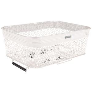 Electra Linear QR Mesh Basket Low Profile with Net white white