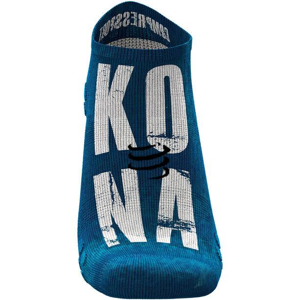 Compressport Pro Racing V3.0 Ultralight Run Kona 2019 Niedrige Socken blue