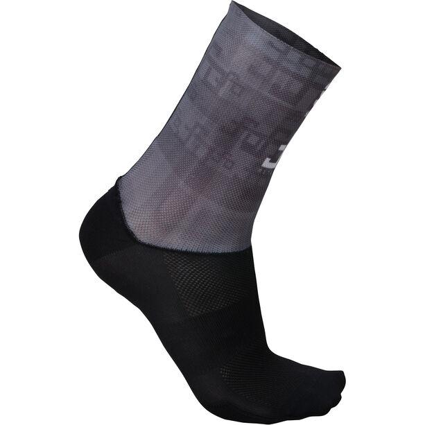 Sportful Sagan Logo Socks Herren grey