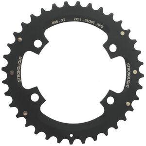 STRONGLIGHT MTB Shimano 2x11 Chainring For XT FC-M8000 / SLX schwarz schwarz