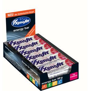 Xenofit Kohlenhydrat Riegel Box 18x50g Cranberry