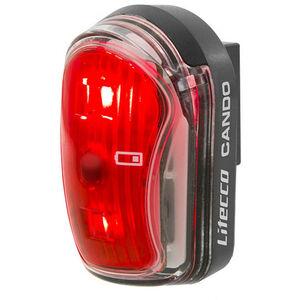 Litecco Cando USB USB Rückleuchte schwarz/rot schwarz/rot