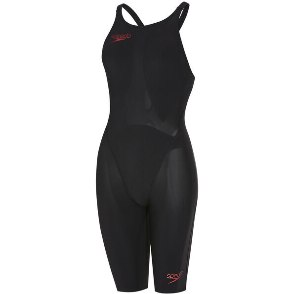 speedo Fastskin LZR Racer Element Openback Kneeskin Damen black/copper