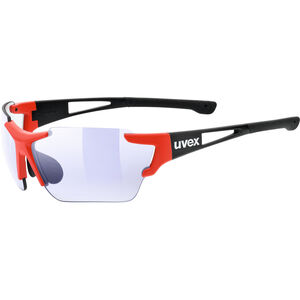 UVEX Sportstyle 803 Race VM Sportglasses black red matt/ltm.blue