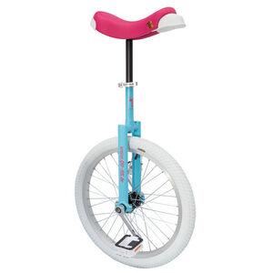 QU-AX Luxus Einrad blau/pink/weiß blau/pink/weiß