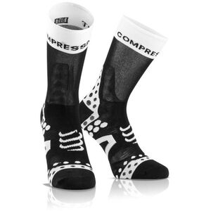 Compressport Pro Racing Ultralight Bike High Socks black-white bei fahrrad.de Online