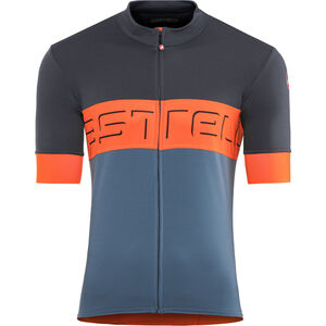 Castelli Prologo VI Jersey Herren dark blue/orange/light blue dark blue/orange/light blue
