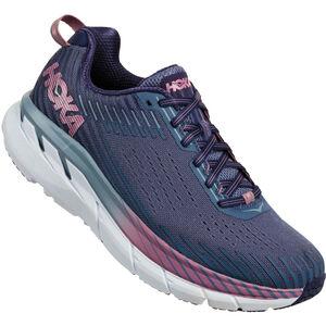 Hoka One One Clifton 5 Running Shoes Women marlin/blue ribbon