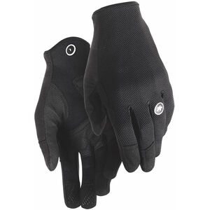 assos Trail Full Finger Gloves black series black series