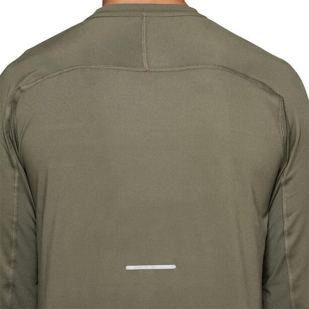 asics Thermopolis Plus LS Shirt Herren mantle green