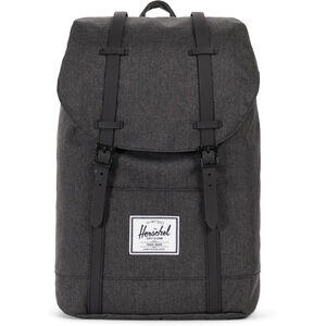Herschel Retreat Backpack 19,5l black crosshatch/black black crosshatch/black