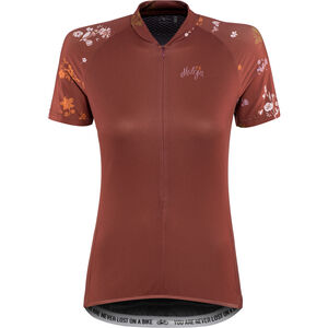 Maloja ViagravaM. Shortsleeve Bike Jersey Damen maroon maroon