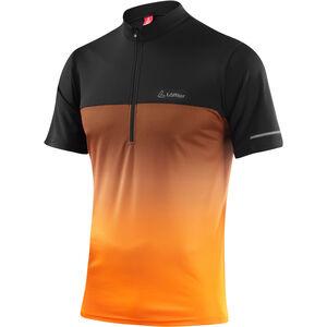 Löffler Flow Half-Zip Bike Shirt Men orange orange