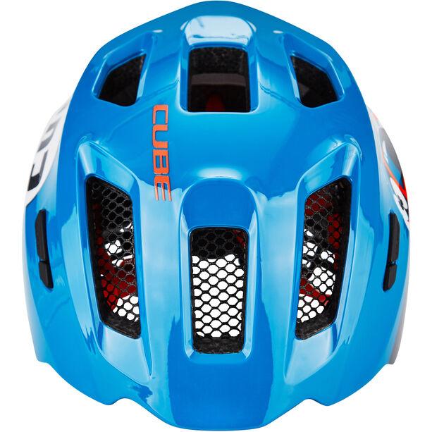 Cube Fink Helm blue