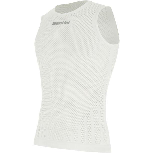 Santini Ärmelloses Baselayer Shirt Herren white