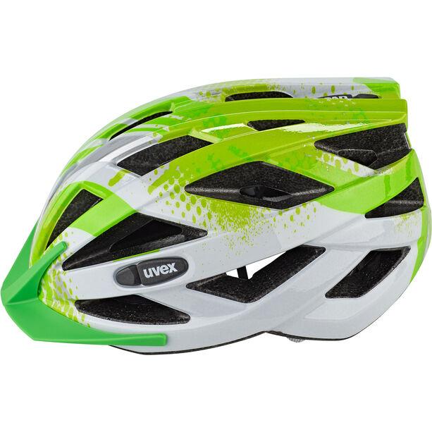 UVEX Air Wing Helmet Kinder lime-white