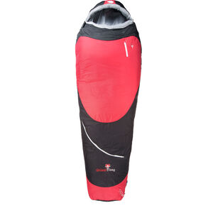 Grüezi-Bag Biopod Hybrid Wool/Down Sleeping Bag black/tango red black/tango red