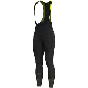 Alé Cycling Clima Protection 2.0 Clima Be-Hot Trägerhose Herren black fluo yellow black fluo yellow