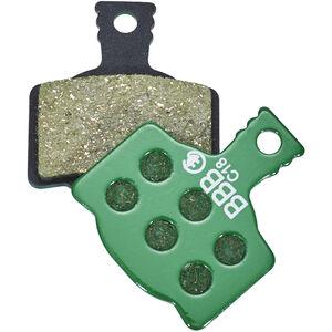 BBB DiscStop E-Bike BBS-36E Bremsbeläge green green