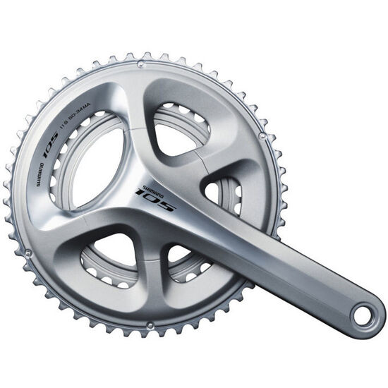 Shimano 105 FC-5800 Kurbelgarnitur 2x11-fach 53-39 Zähne bei fahrrad.de Online