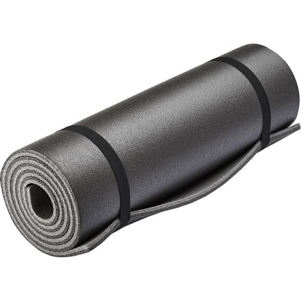 CAMPZ Isomatte Zweilagig 180x50cm schwarz
