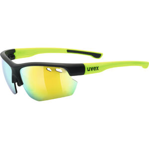 UVEX Sportstyle 115 Sportglasses black matt yellow/mirror yel black matt yellow/mirror yel