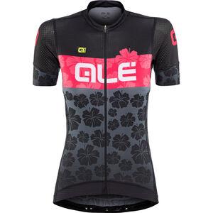 Alé Cycling PRS Ibisco SS Jersey Damen black-gerbera black-gerbera