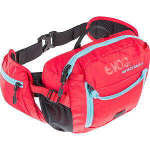 EVOC Hip Pack Race Backpack 3 L + Hydration Bladder 1,5 L red-neon blue red-neon blue