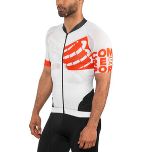 Compressport Cycling On/Off Maillot Jersey Unisex White bei fahrrad.de Online