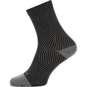 GORE WEAR C3 Optiline Mid Socks graphite grey/black