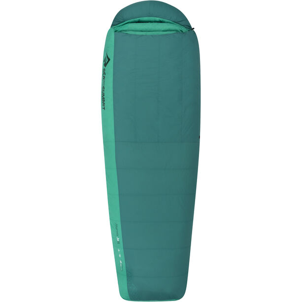 Sea to Summit Journey JoII Sleeping Bag regular Damen emerald/peacock