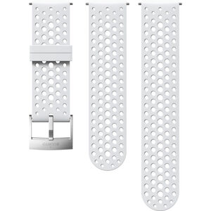 Suunto Athletic 1 Silicone Strap white/steel white/steel