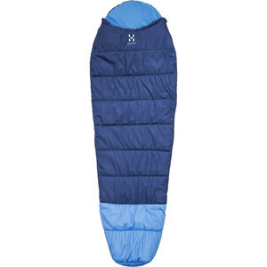 Haglöfs Moonlite +7 Sleeping Bag 190 cm hurricane blue/aero hurricane blue/aero