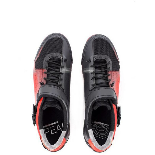 Cube MTB Peak Pro Shoes red