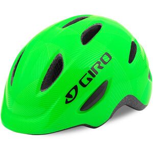 Giro Scamp Helmet Kinder green/lime lines green/lime lines