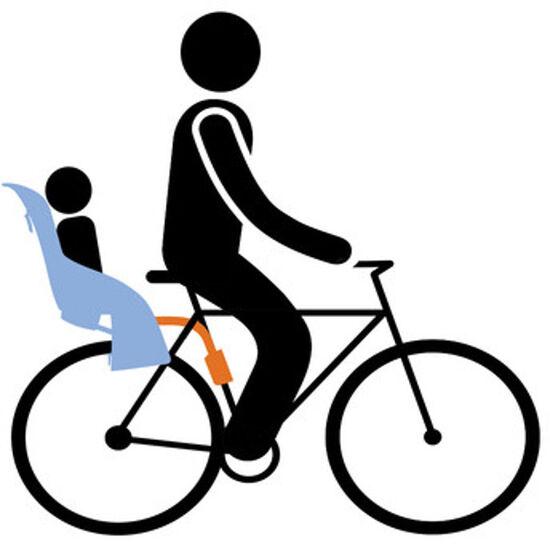 Thule RideAlong Fahrrad-Kindersitz bei fahrrad.de Online