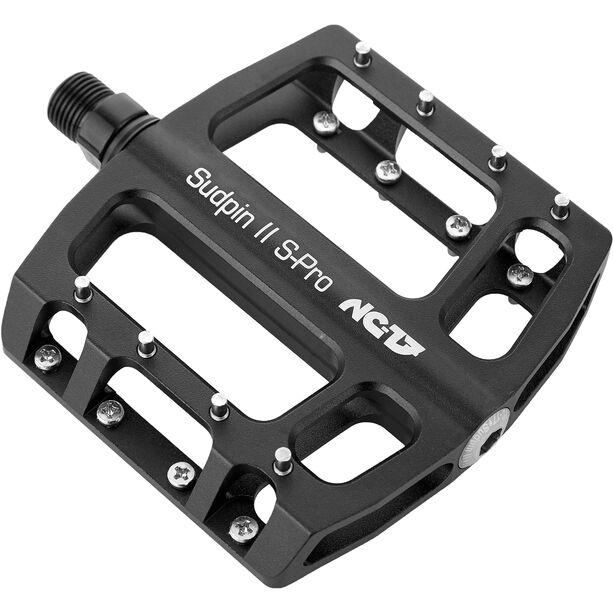 NC-17 Sudpin II S-Pro CNC Pedals schwarz