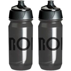 RONDO Rondo Wasserflaschen Set 500ml 2 Stück clear/black clear/black