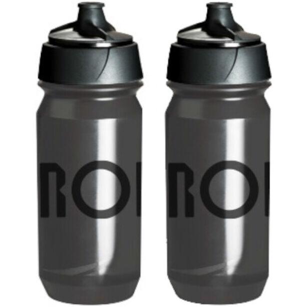 RONDO Rondo Wasserflaschen Set 500ml 2 Stück clear/black
