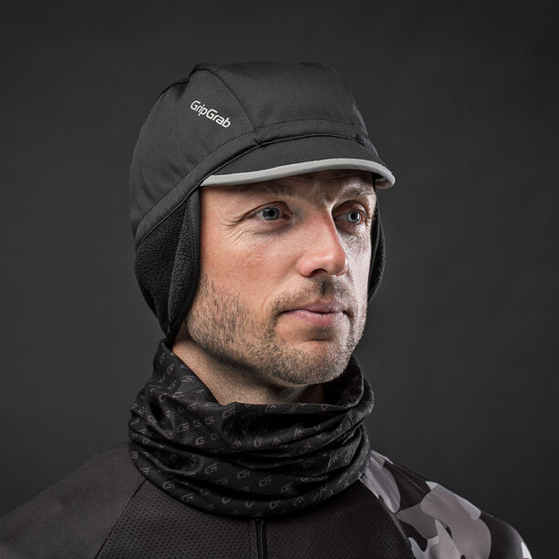 GripGrab Windproof Winter Cycling Cap black