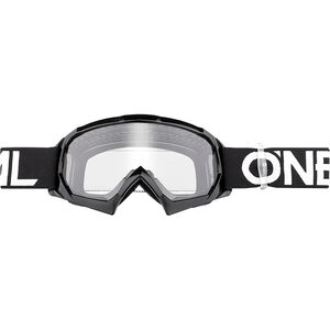 O'Neal B-10 Goggles Kinder solid black/white solid black/white