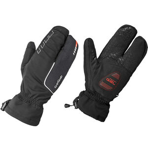 GripGrab Nordic Windproof Deep Winter Lobster Gloves Black