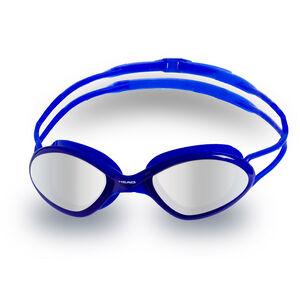 Head Tiger Race Mid Mirrored Goggles blu-clear blu-clear
