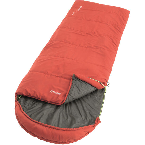 Outwell Campion Lux Sleeping Bag red